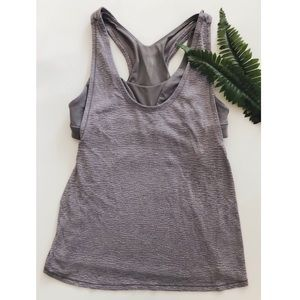 Lululemon Athletica || Gray Workout Tank Top